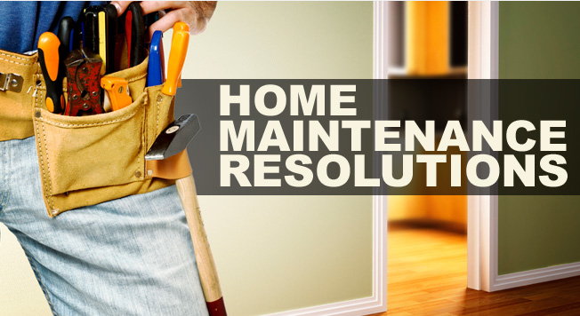 Home maintenance resolutions for 2013