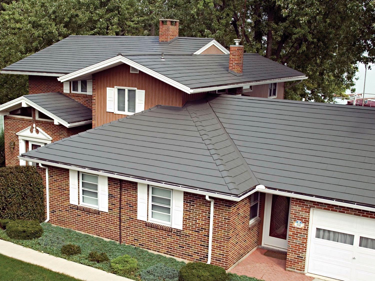 Oxford metal shingle classic metal roofing systems for Roofing product