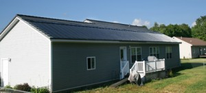 Classic Metal Roof Incorporates Freedom Solar