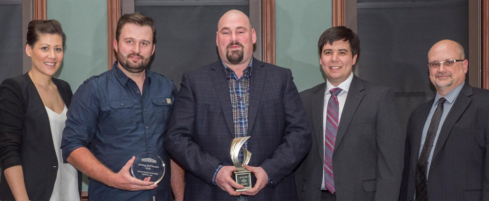 Classic Products Canada Leadership wins roofing award
