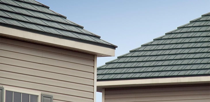Steel Roof Shingles : Rustic shingle classic metal roofing systems
