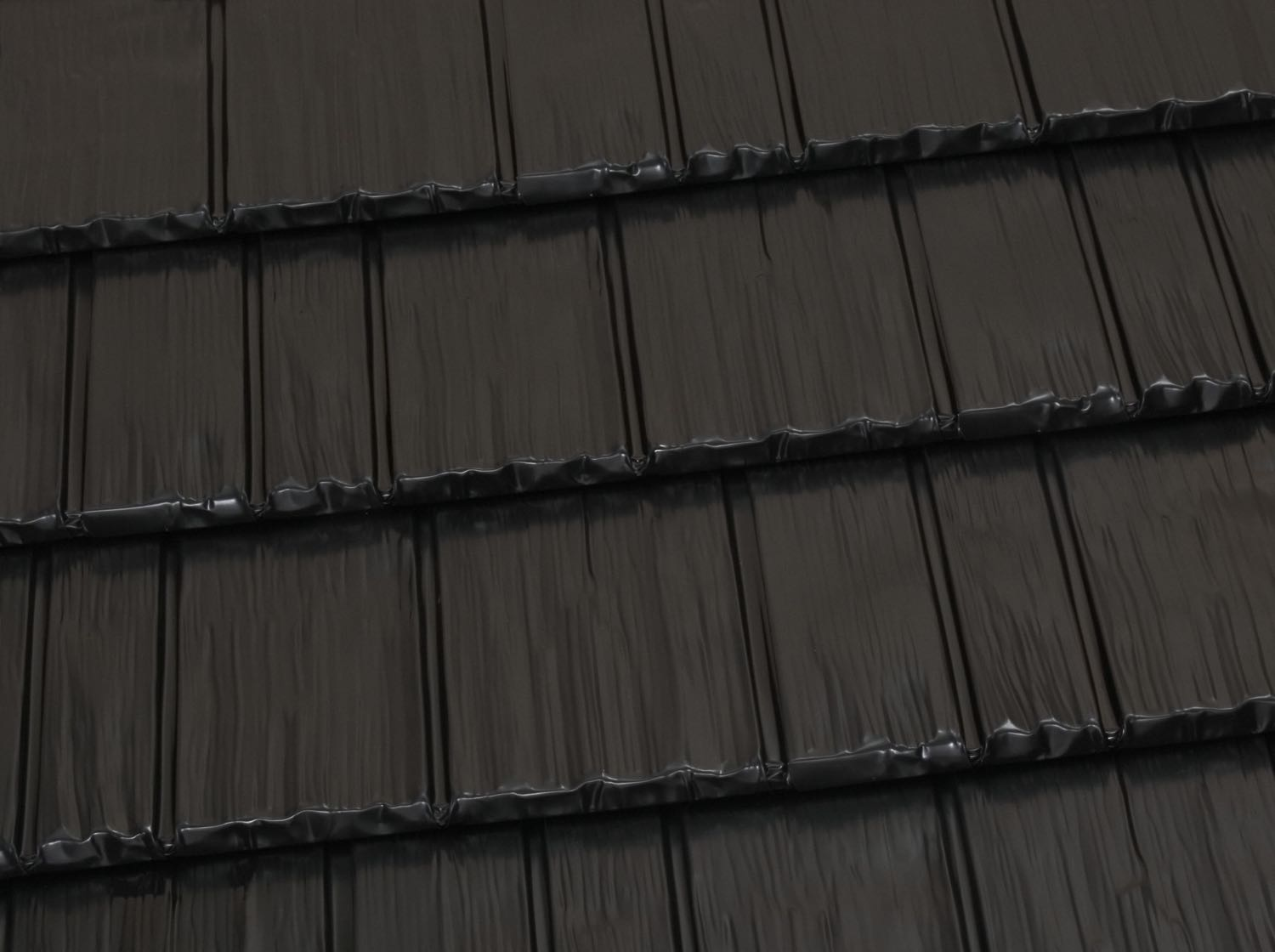 Rustic shingle classic metal roofing systems - Black metal roof pictures ...