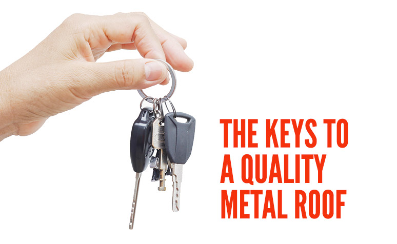 keys to a quality roof