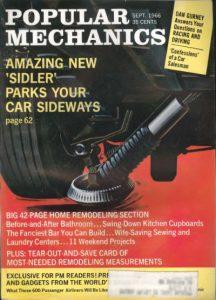 Sept 1966 Popular Mechanics cover