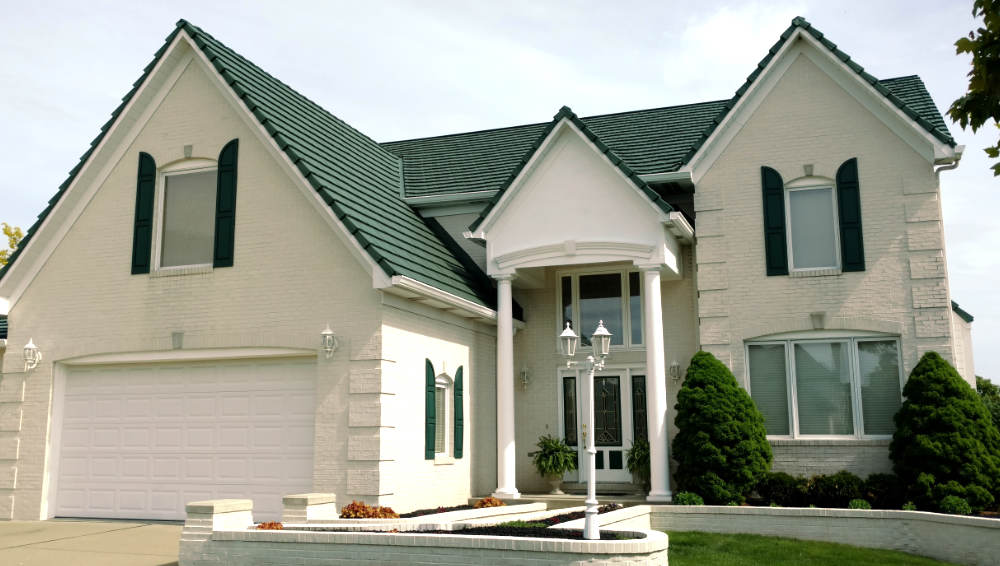 residential metal green roofing Classic Metal Roofing Systemsin green